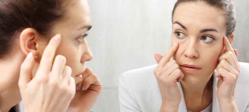 Нервное подрагивание глаз (нервный тик)